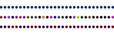 Gepunktete Linien erstellen (einfarbig und mehrfarbig)